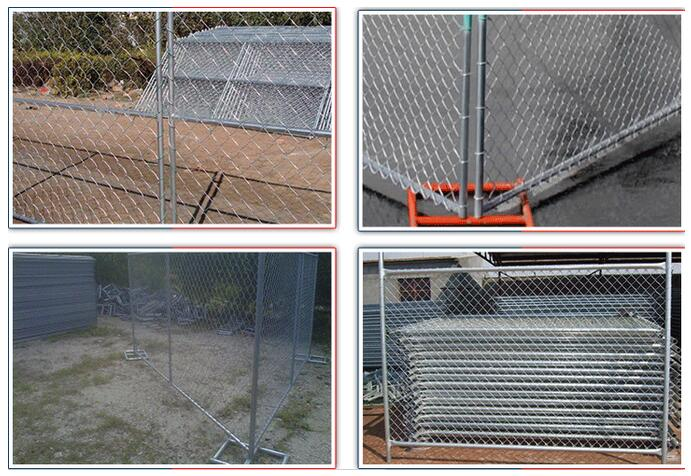 Construction Site Chain Link Fence