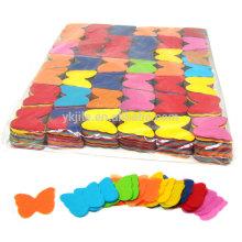 Bunter Regenbogen-Seidenpapier-Konfetti-Massen-saubere Tasche hergestellt von Recyclingpapier für Geburtstage Engagements