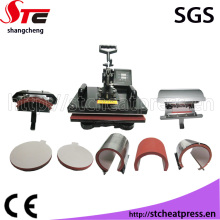 CE Approved Multifunctional 8 in 1 Sublimation Heat Press Equipment