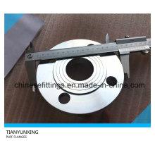 DIN2543 Pn16 Plaque forgée Bride de tuyau en acier inoxydable