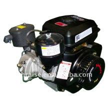 Одноцилиндровый, наклонный, 4-строковый, вихревой, принудительный дизельный двигатель с воздушным охлаждением