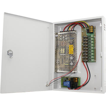 CCTV Power Supply Unit with UPS 12V10A