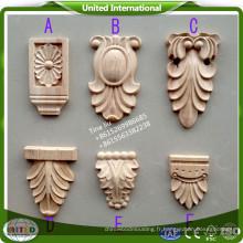 sculptures sur bois décoratives CNC