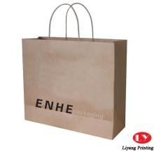 Fancy gift kraft paper bag printing packaging