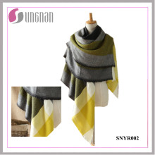 2015 European Mixed Colors Imitation Cashmere Square Warm Shawl Scarf