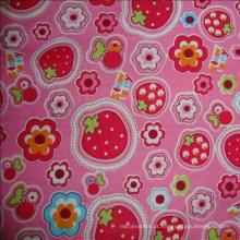 2018 tecido impresso colorido confortável do rayon do viscose 100%