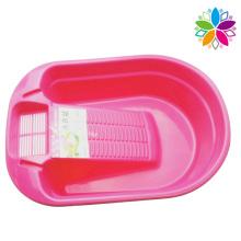 Пластиковая мойка с доской для дома (SLP035)