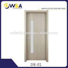 Puertas interiores de madera de China que usan el material de WPC