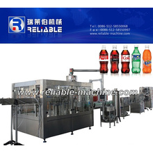 Fully Automatic Bottle Soda Water Filling Packing Equipment