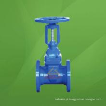 Válvula de porta macia do selo do ferro fundido (GAZ41X / GAZ45X / GASZ45X / GAZ545X / GAZ945X)