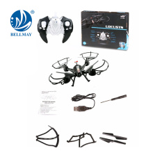 2.4GHz 4Channel RC Drone Quad-helicopter Headless et One-Key Return Helicopter