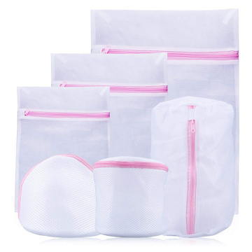 Silky Mesh Laundry Bags Organized for Wash Machine