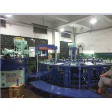 Máquina de moldagem por injeção de plástico de três cores