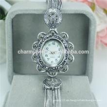 Última moda vintage elegante reloj de pulsera de cuarzo para las mujeres B031