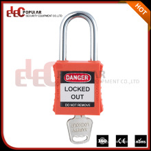 Elecpopular Quality Products 38MM Metal Nylon Shackle Insulation Safety Padlocks