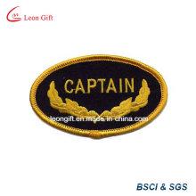 Revers de broderie couleur or Logo brodé Badge