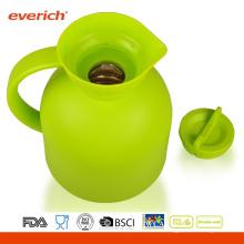 2016 Everich 1000ml verschiedene Farben Glas unzerbrechliche Kaffeekanne