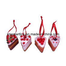 Christmas Cake Hanging Decor, Souvenir Xmas Hanging Ornament