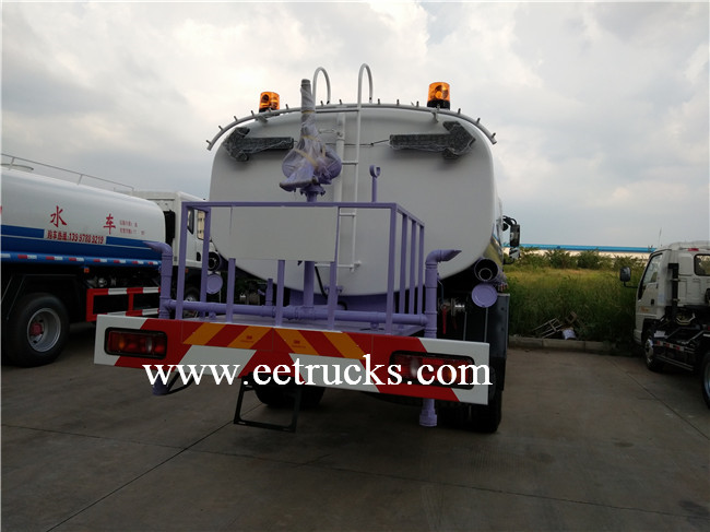 8000 Liters Water Tank Trucks