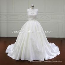 XF806 robe de mariée honorable en dentelle en robe de bal