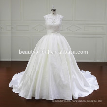 XF806 honorable lace ball gown wedding dress
