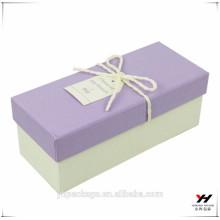 Caja de regalo de papel de empaquetado del diseño de la moda del logotipo de encargo de Whosale