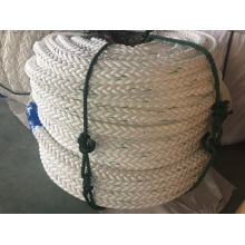 Corda do nylon da corda do poliéster da corda dos PP da corda da amarração da 12-Corda