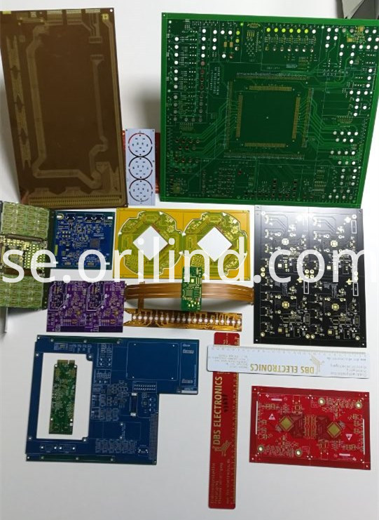 Various types of circuit boards