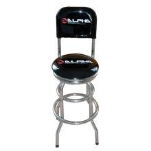 Поворотный барный стул с колесами, изготовленными в Китае.