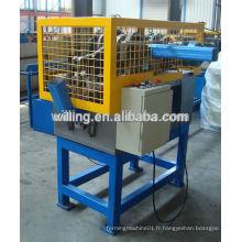 Machine de formage de rouleaux de downspout de tuyau