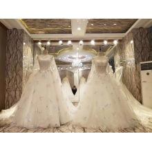 Новый Дизайн Потрясающие Невесты Брак Свадебное Платье