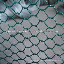 PVC-Hühnchen-Maschendraht / Sechskant-Maschendraht für die Kultivierung