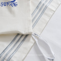 Nantong factory supplier indian cotton flat sheet 200T Cheapest Price
