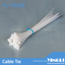 Nylon Cable Tie for Cables 2.5X200mm (YL-T3X200)