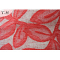 2016 Jacquard Chenille Upholstery Chenille Fabric with Leaves
