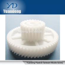 CNC peças de usinagem pequenas engrenagens de plástico de nylon engrenagens