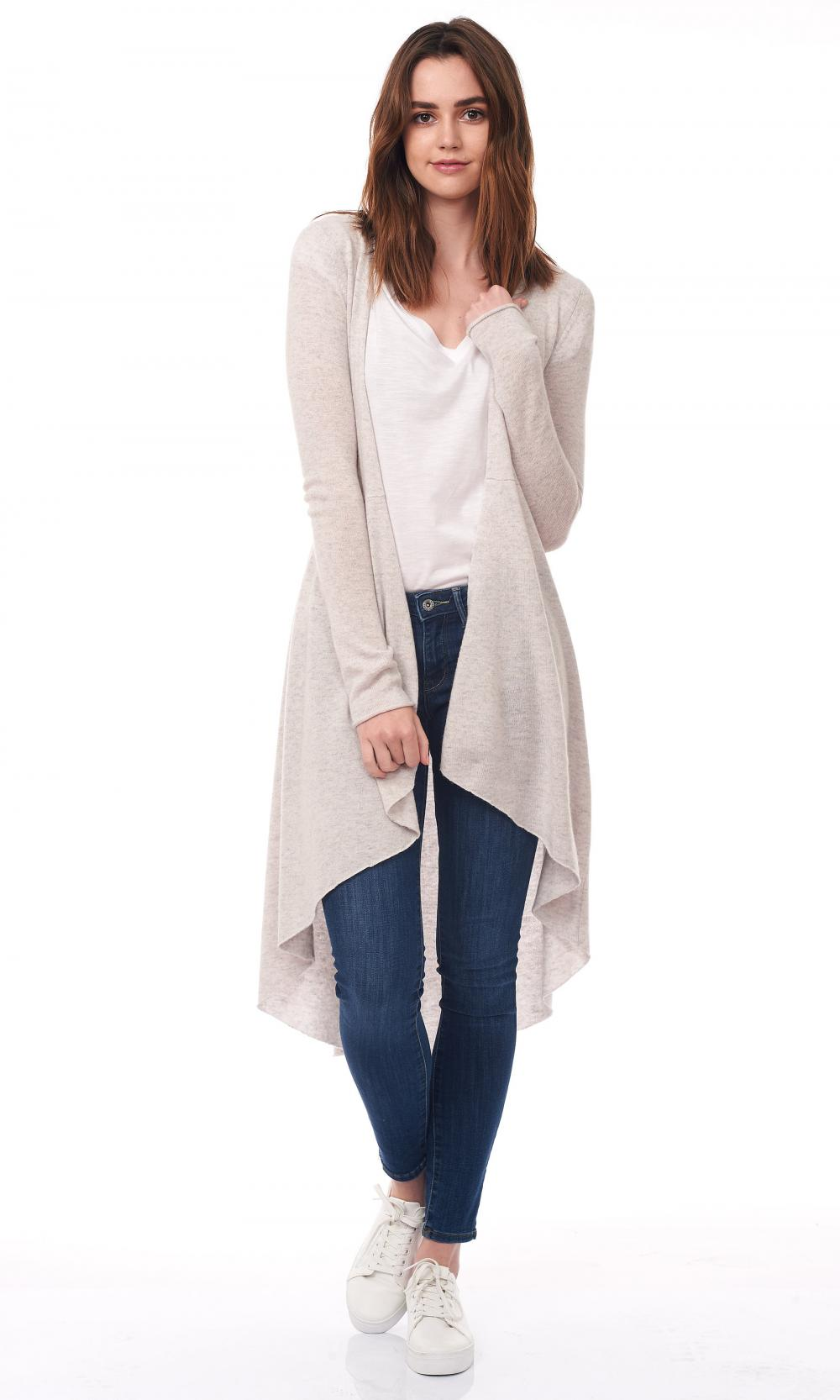 The Ladies Long Cardigan loe Duster