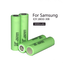 Icr18650-30b para 18650 3.7V 3000mAh Li-ion Batería recargable 18650