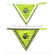 high visibility heat-transfer reflective safety vest for pets