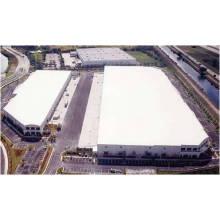 1,2 mm weiß grau Dach und Abdichtung PVC-Membrane