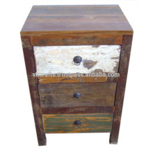 Recyled wood chest Drawer