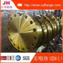 A105 of Yellow Paint Flange BS4504