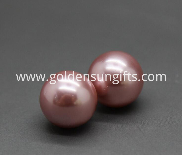 Purple Shell Pearl Beads