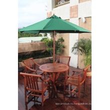 Изысканный 5 наборы южноамериканских Tauroniro круглый Открытый стол с природой зерна.