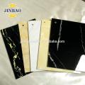 JINBAO anti UV ESD 5mm 8mm gray ivory rigid pvc sheet 4x8 hard surface