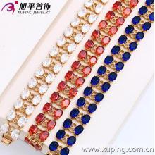 Xuping 18k Золото Цвет Мода Браслет (73466)