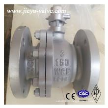 API Válvula de esfera flangeada de aço carbono, Wcb, CF8, CF8m 1/2 '' a 24 '' 150 #
