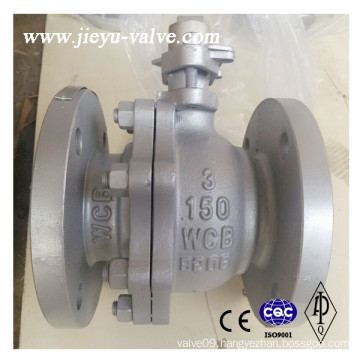 ASME 150lb Flanged Ends Carbon Steel Ball Valve
