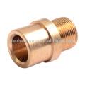 Cojinete de la manga de la batería de acero del bronce del latón del diámetro 50 del transformador eléctrico de encargo