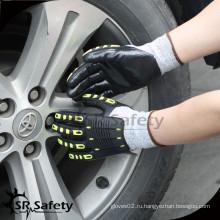 SRSAFETY устойчивые к ударам удары механические рабочие перчатки